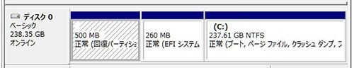 ディスクの管理-(2)